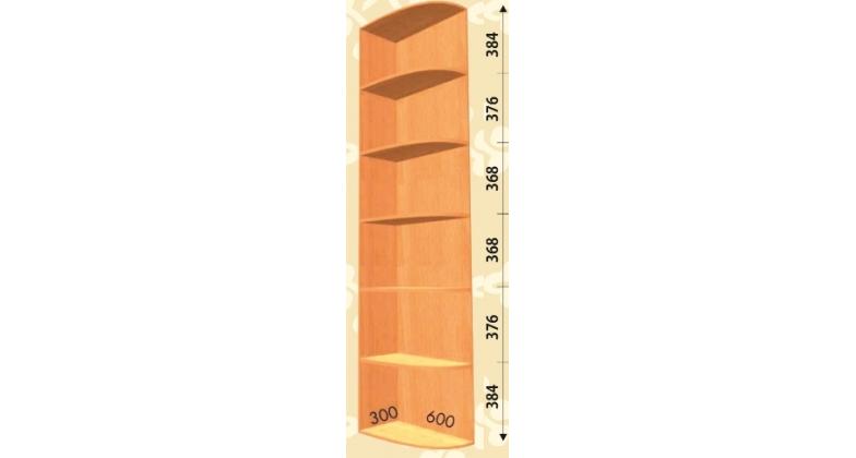 Угловое окончание (консоль) 300*600*2400 прямая