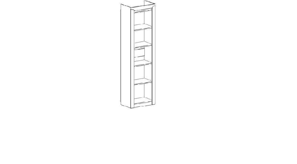 Соренто гостиная Шкаф 1 дв