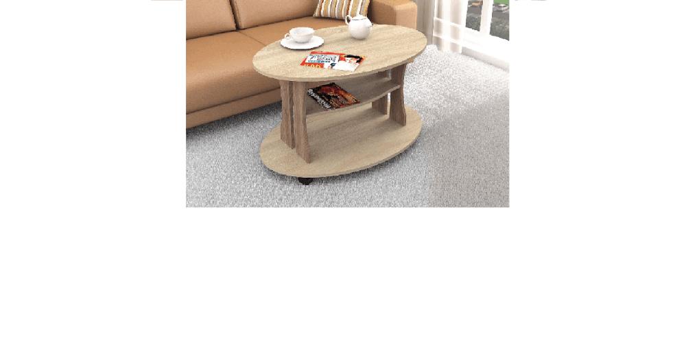 Журнальный стол Консул-1 дуб сонома/ясень шимо