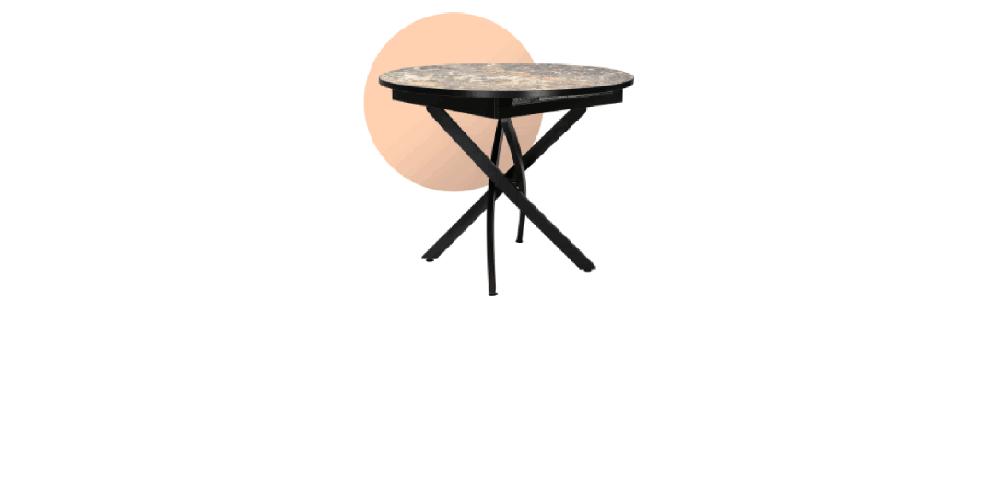 Стол Норд-4 круглый D 1000+320