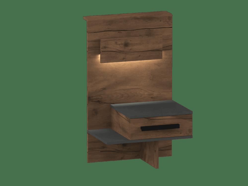 Глазго спальня Тумба с ящиком
